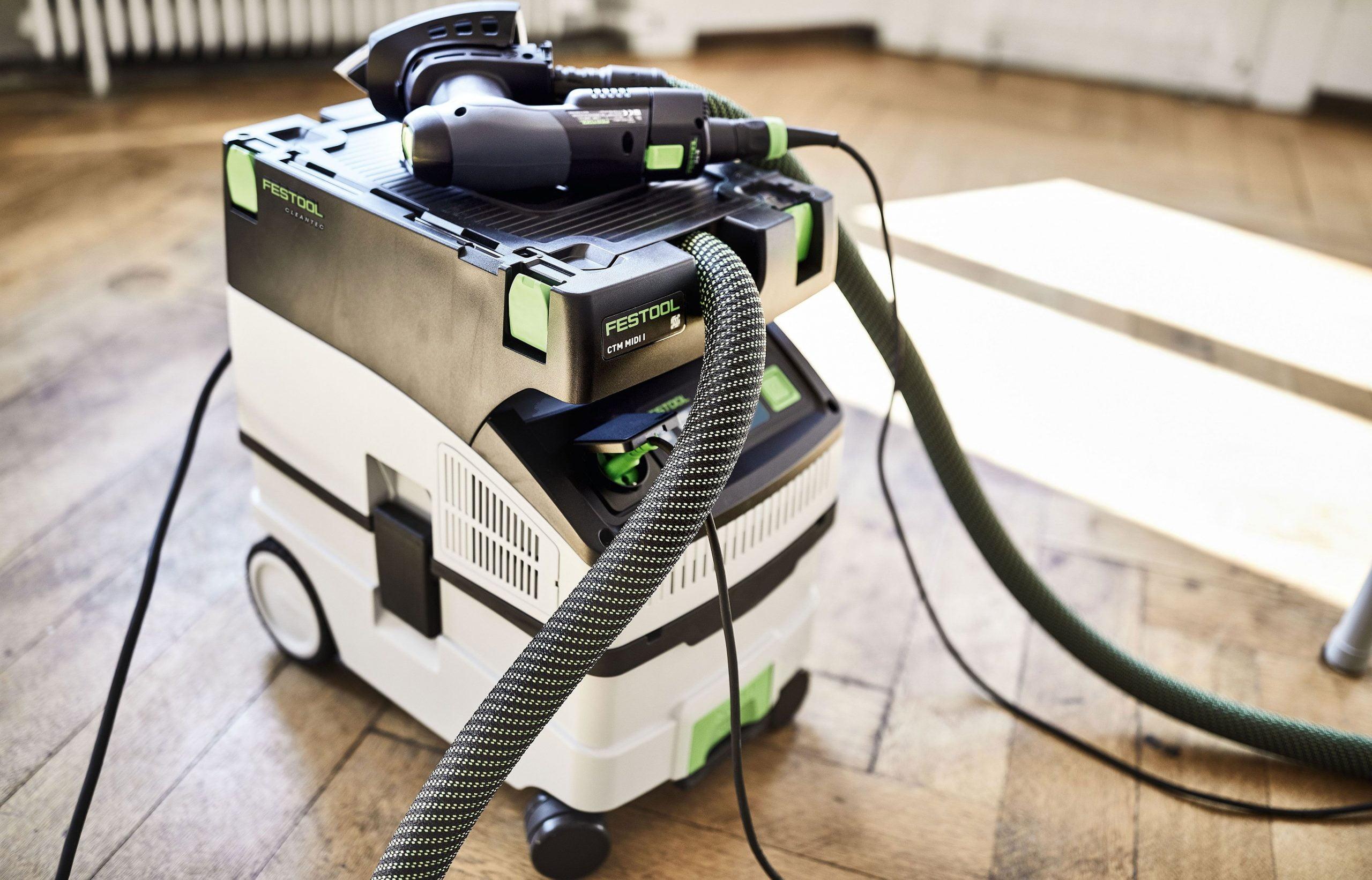 CTM MIDI HEPA for woodworking and other hazardous dust