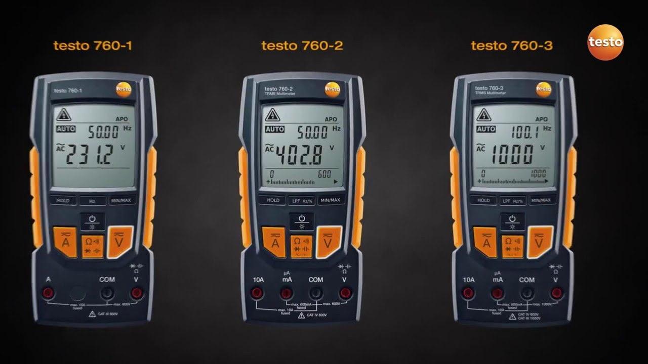 TESTO 760 series Automatic Multimeters