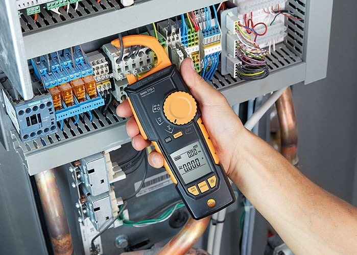 Clamp Meters - with/without extra power measurement function